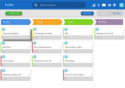visual to-do pipeline